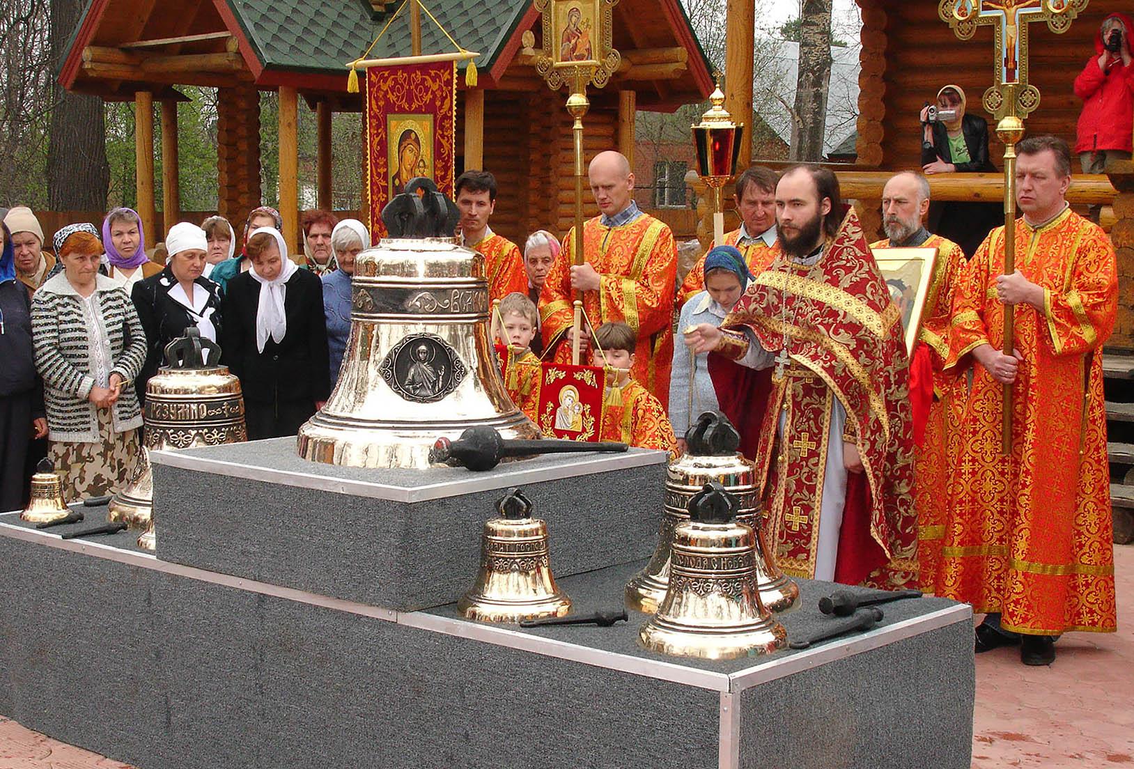Храм Богоявления Господня Московская обл, п. Жаворонки