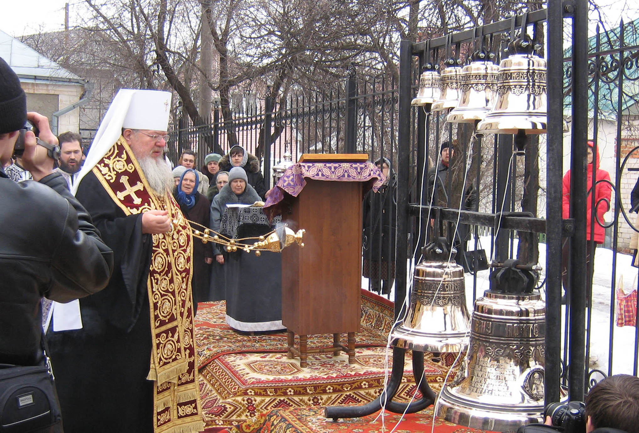 Храм в честь великомученика Георгия Победоносца г. Воронеж