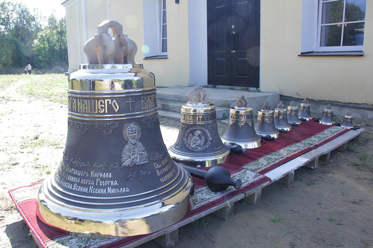 Храм святителя Николая Чудотворца, Калужская область, с. Серпейск