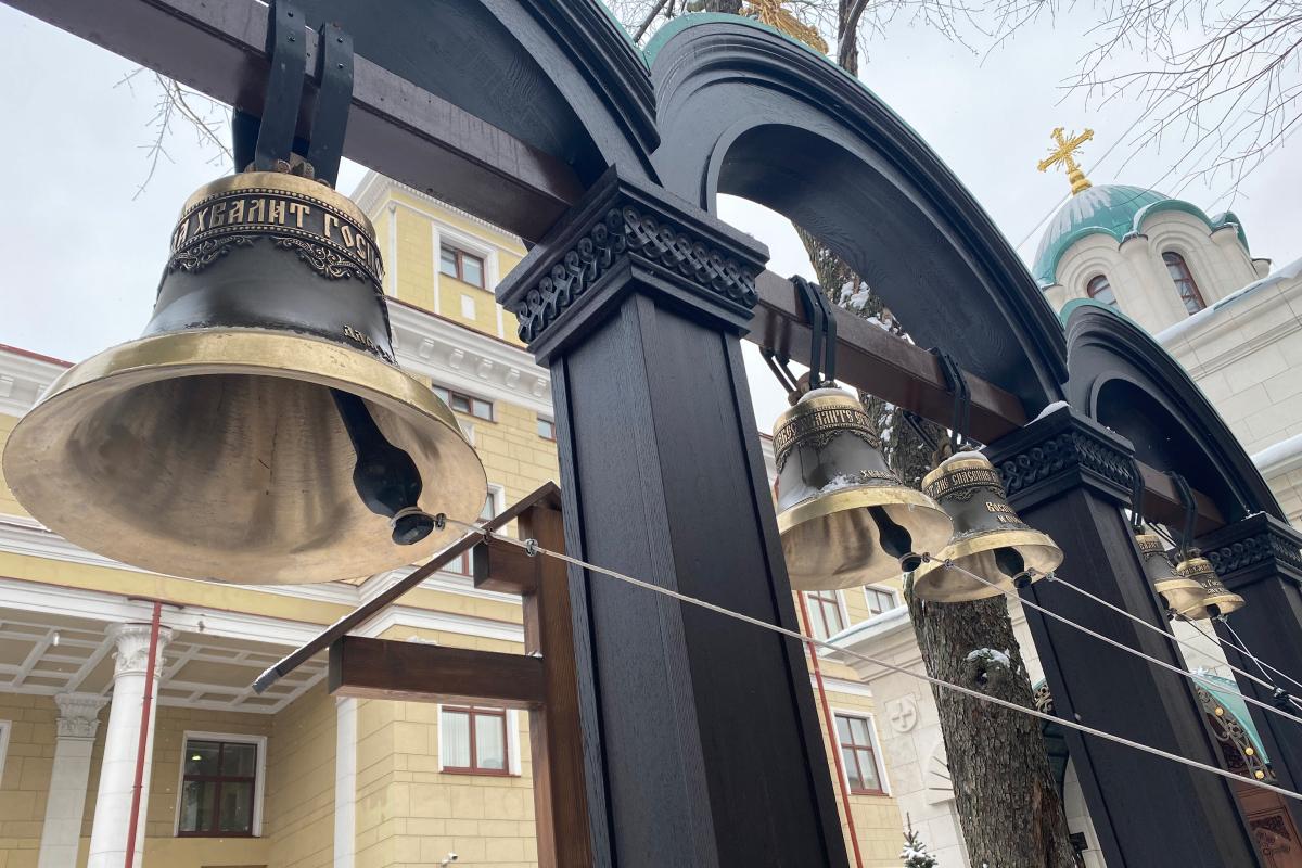 Малый подбор колоколов в Часовню Св. Николая Чудотворца, г. Москва, 2020 г.